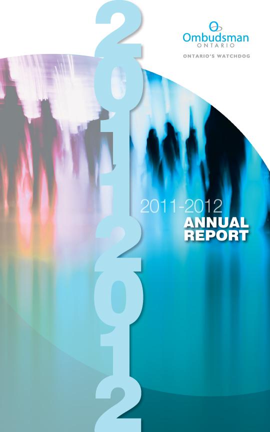 Image of 2011-2012 Annual report cover
