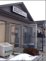 Photo of front door to Billy T's Tap and Grill