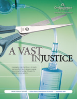 cover image of A Vast Injustice report