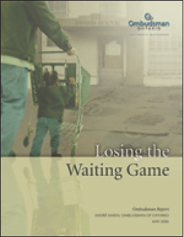 cover image of Losing the Waiting Game report
