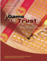 Image of A Game of Trust report cover