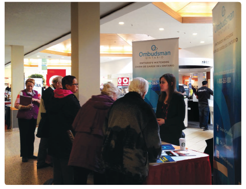 Photo from an outreach and community event involving the Ontario Bar Association and the law faculties of the University of Ottawa