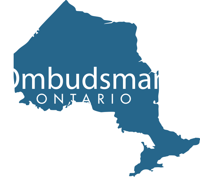 "Ombudsman Logo with ""Ombudsman Ontario"" text"