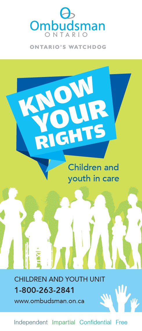 "Link to brochure ""Know your rights"""