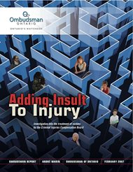 Cover of report, Adding Insult to Injury