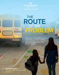 cover image of The Route of the Problem report
