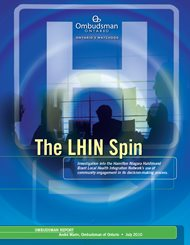 Cover of report, The LHIN Spin