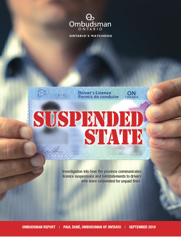 suspended state - ontario ombudsman