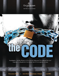 Image of cover for The Code report