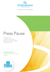 "Cover of report ""Press Pause"""