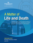 cover of A Matter of Life and Death report