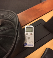 December 7, 2017 – photo of the citizen blogger's recording device, taken by the Acting Clerk (para 70).