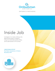 "Cover of report ""Inside Job"""