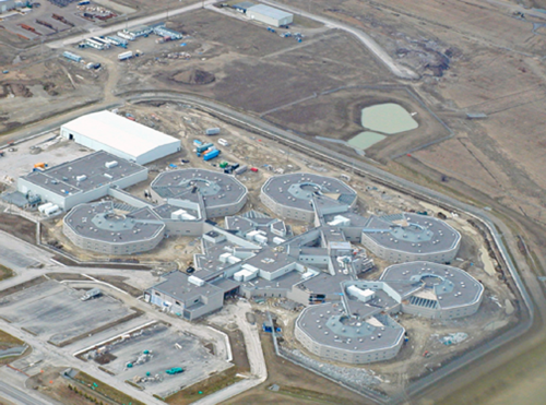 Figure 2: Central East Correctional Centre. Photo provided by Parkin Architects Ltd.