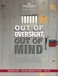 cover of Out of Oversight, Out of Mind report
