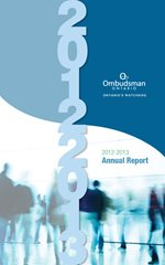 Cover of 2012-2013 Annual Report